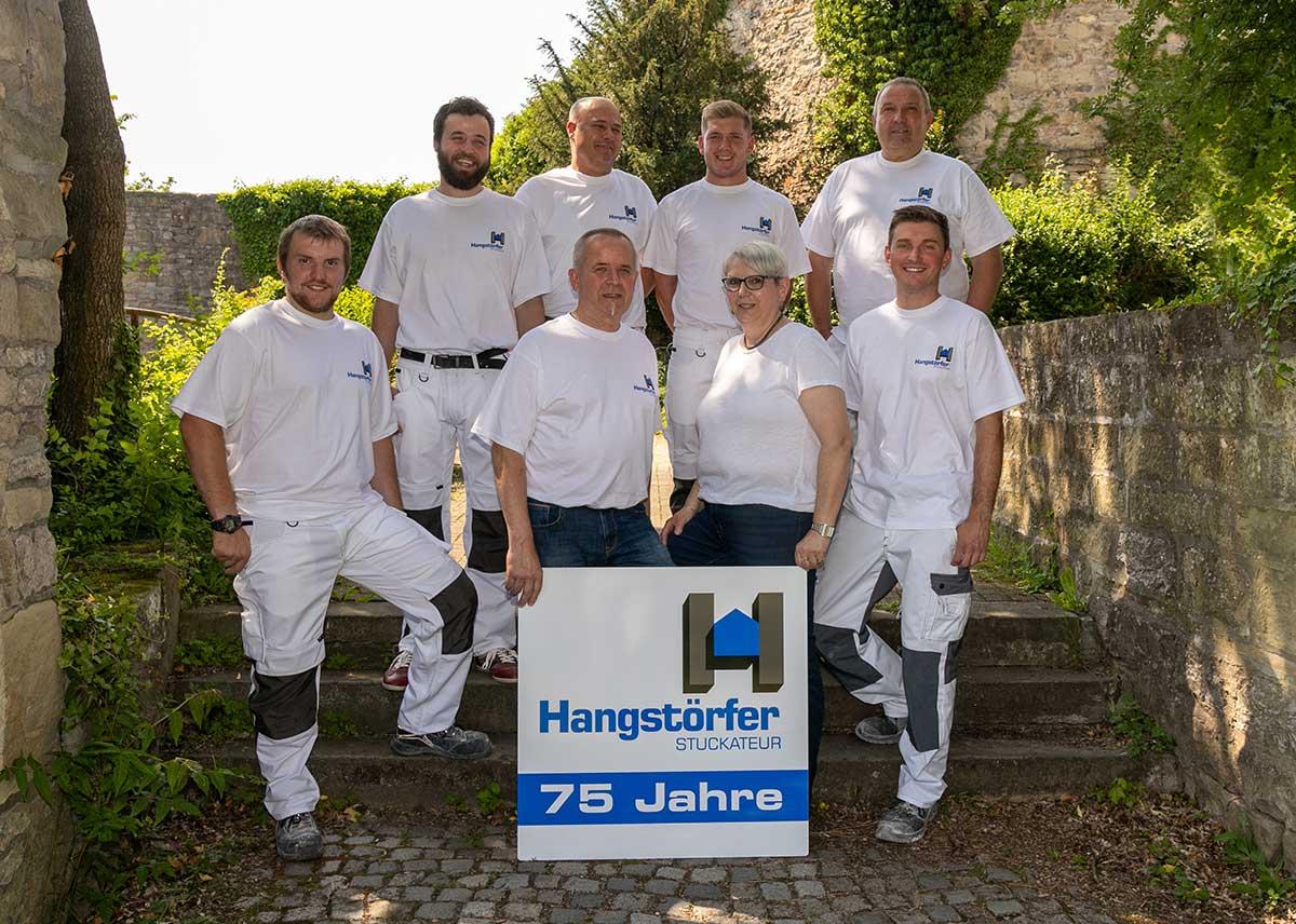Das Team von Stuckateur Hangstörfer